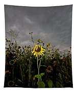 Goth Sunflower Tapestry
