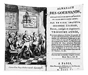 Gourmands Almanac, 1806 Tapestry