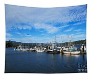 Government Wharf In Sooke Harbour Tapestry