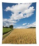 Grainfield Blue Sky Tapestry
