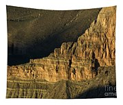 Grand Canyon Bathed In Light Tapestry