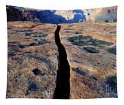 Grand Canyon Dividing Line Tapestry