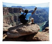 Grand Canyon Feeling All Right Tapestry