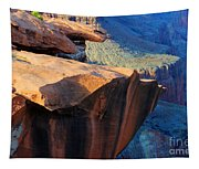 Grand Canyon Into Space Tapestry