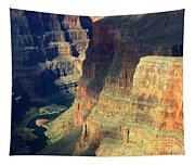 Grand Canyon Magic Of Light Tapestry