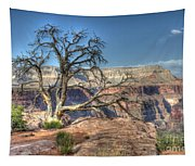 Grand Canyon Tree At Toroweap Tapestry