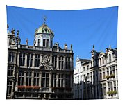 Grand Place Buildings Tapestry