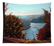 Grand River Look-out Tapestry