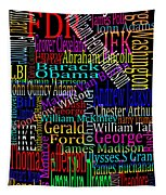 Graphic Presidents Tapestry