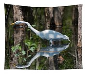 Great Egret Tapestry