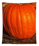 Great Orange Pumpkin Tapestry