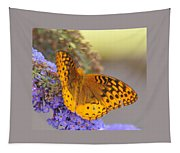 Great Spangled Fritillary Butterfly Tapestry