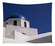 Greek Architecture, Santorini, Greece Tapestry