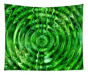 Green As Grass Tapestry