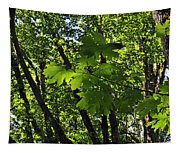 Green Canopy Tapestry