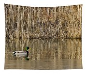 Green Drake Reflections Tapestry