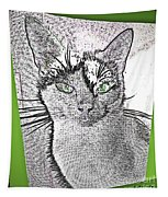 Green Eyed Monster Tapestry