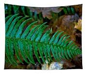 Green Fern Tapestry