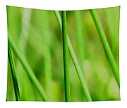 Green Green Grass Of Home Tapestry