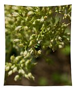 Green Helicid Bee 6 Tapestry