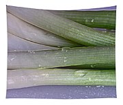 Green Onions Tapestry