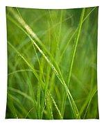 Green Prairie Grass Tapestry