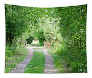 Green Road Tapestry