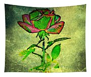 Green Rose Tapestry