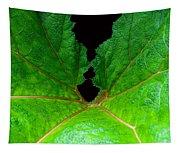 Green Spider Leaf Tapestry