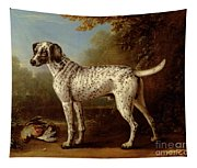 Grey Spotted Hound Tapestry