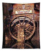Grist Mill In The Smokies Tapestry