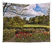Grounds At Leeds Castle  Tapestry