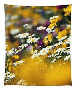 Group Of Daisies Tapestry