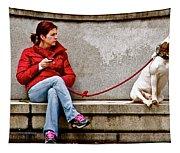 Guarding Laura Tapestry