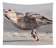 Gull Taking Off Tapestry