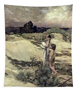 Hagar And Ishmael Tapestry