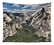 Half Dome Valley Tapestry