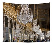 Hall Of Mirrors At Palace Of Versailles France Tapestry