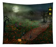 Halloween - One Hallows Eve Tapestry