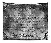 Hamilton: Pamphlet, 1797 Tapestry