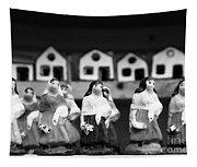 Handpainted Figurines Tapestry