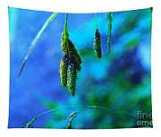 Hanging Green  Tapestry