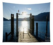 Harbor And Sun Tapestry