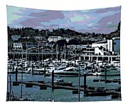 Harbor At Torquay Tapestry