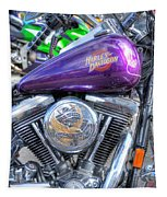 Harley Davidson 3 Tapestry