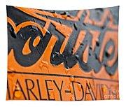 Harley Davidson Logo Tapestry