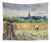 Harvest Field At Stratford Upon Avon Tapestry