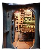 Hatch In Submarine Tapestry