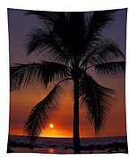 Hawaiian Sunset Tapestry