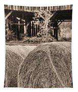 Hay Bw Tapestry